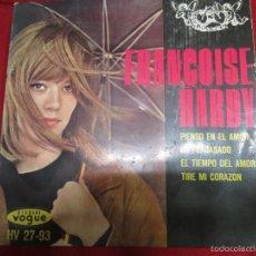 Discos de vinilo: FRANCOISE HARDY PIENSO EN EL AMOR.. Lote 56146972