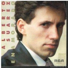 Disques de vinyle: ALBERTO SUAREZ - ENAMORADO / PALOMA - SINGLE 1982 - PROMO. Lote 56147356