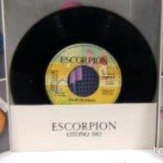 Discos de vinilo: JERSEY ESCORPIÓN - DISCO PUBLICITARIO - CON 4 CANCIONES DE JULIO IGLESIAS. Lote 56149198