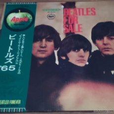 Discos de vinilo: THE BEATLES - BEATLES FOR SALE - APPLE JAPAN PRESSING CON OBI! GATEFOLD. Lote 56152274