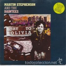 Discos de vinilo: MARTIN STEPHENSON AND THE DAINTEES - BOAT TO BOLIVIA. ED. INGLESA. Lote 56152827