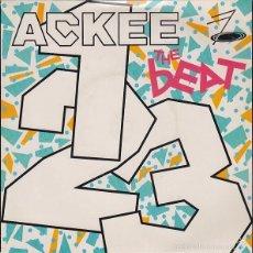 Discos de vinilo: THE BEAT - ACKEE 1-2-3 ED. INGLESA. Lote 56152934