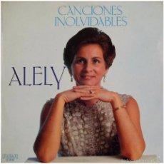 Discos de vinilo: ALELY (ALCY AGÜERO) – CANCIONES INOLVIDABLES - LP PROMO SPAIN - RCA CL-35106. Lote 56153032