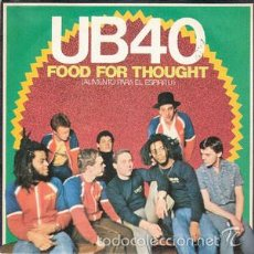 Discos de vinilo: UB40 - FOOD (FOR THOUGHT) / KING. Lote 56153044