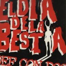Discos de vinilo: DEF CON DOS - EL DÍA DE LA BESTIA. PRECINTADO. Lote 173931888