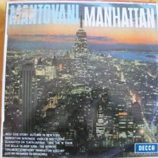 Discos de vinilo: LP - MANTOVANI - MANHATTAN (SPAIN, DECCA RECORDS 1960). Lote 56153878
