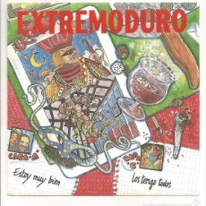 Discos de vinilo: EXTREMODURO - ESTOY MUY BIEN. Lote 56153949