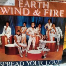 Discos de vinilo: SINGLE (VINILO)-PROMO- DE EARTH WIND AND FIRE AÑOS 80. Lote 71414795