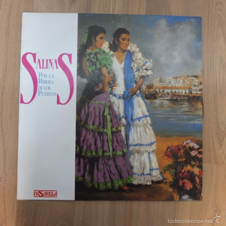 SALINAS-POR LA RIBERA DE LOS PUERTOS-LP1990 (Música - Discos - LP Vinilo - Flamenco, Canción española y Cuplé)