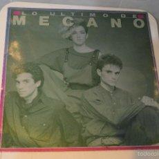 Discos de vinil: LO ÚLTIMO DE MECANO - CBS, 1986 -. Lote 56164591
