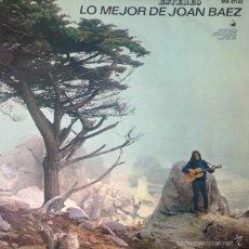 Discos de vinilo: JOAN BAEZ - LO MEJOR DE JOAN BAEZ . LP . 1965 HISPAVOX. Lote 56164982