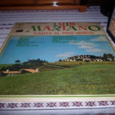 Discos de vinilo: LUIS MARIANO CANTA AL PAIS VASCO. Lote 56165188