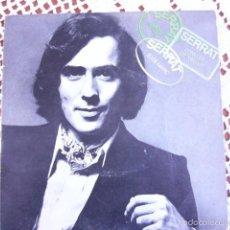 Discos de vinilo: JOAN MANUEL SERRAT 20 DE MARÇ EP 1970. Lote 56168821