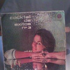 Discos de vinilo: DISCO DE VINILO VARIOS - COCKTAIL DE ÉXITOS N° 3. Lote 56174163