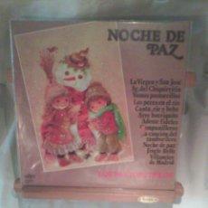Discos de vinilo: DISCO DE VINILO NOCHE DE PAZ - LOS PASTORCILLOS. Lote 56175136
