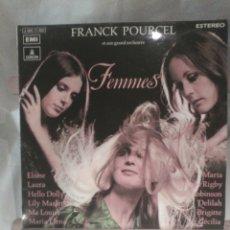 Discos de vinilo: DISCO DE VINILO FRANCK POURCEL - FEMMES. Lote 56175247