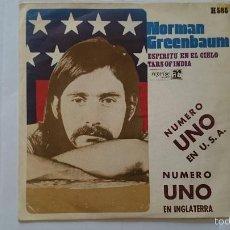 Discos de vinilo: NORMAN GREENBAUM - SPIRIT IN THE SKY (ESPIRITU EN EL CIELO) / TARS OF INDIA (1970). Lote 56176307