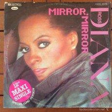 Discos de vinilo: DIANA ROSS - MIRROR, MIRROR . MAXI SINGLE . 1981 GERMANY. Lote 56181166