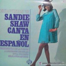 Disques de vinyle: SANDIE SHAW CANTA EN ESPAÑOL - EUROVISION ´67 -MARIONETAS EN LA CUERDA/ A LOS CHICOS LES DIRA/ OTRA. Lote 56196920