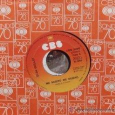 Discos de vinilo: OLGA GUILLOT - ME MUERO ME MUERO / ***SINGLE CBS DE 1975 ,RF-552. Lote 56198806
