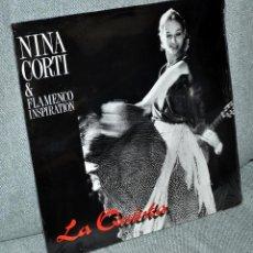 Discos de vinilo: NINA CORTI & FLAMENCO INSPIRATION - LA QUINTA - EDITADO EN ALEMANIA - POOL 1989 - NUEVO/NEW & SEALED. Lote 56199789