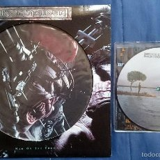 Discos de vinilo: IRON MAIDEN: MAN ON THE EDGE, MX PICTURE DISC + BRUCE DICKINSON: BACK FROM THE EDGE, SINGLE PICTURE . Lote 56201568