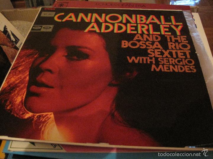 LP-CANNONBALL ADDERLEY & THE BOSSA RIO SEXTET CAPITOL 2877 SPAIN 1968 JAZZ SERGIO MENDES (Música - Discos - LP Vinilo - Jazz, Jazz-Rock, Blues y R&B)