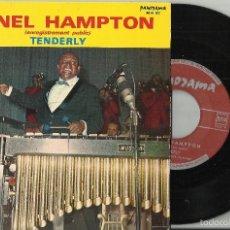 Discos de vinilo: LIONEL HAMPTON SINGLE TENDERLY FRANCIA. Lote 56218411