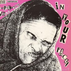 Discos de vinilo: IN YOUR FACE !, EP, THE SUBTERFUGE COMPILATION VO. 2 + 3, AÑO 1991. Lote 56224796