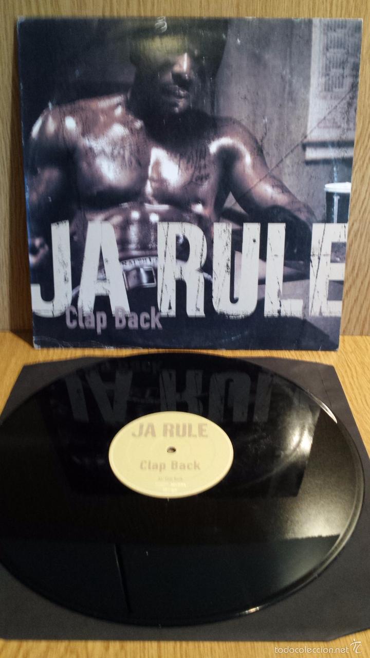 JA RULE. CLAP BACK. MAXI SINGLE / M.I. RECORDS - 2003. MBC. ***/*** (Música - Discos de Vinilo - Maxi Singles - Rap / Hip Hop)
