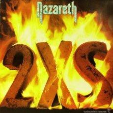Discos de vinilo: NAZARETH-2 X S LP VINILO 1982 SPAIN. Lote 56232980