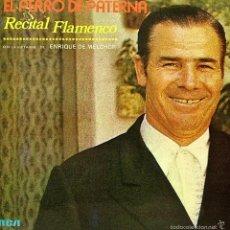 Discos de vinilo: EL PERRO DE PATERNA-RECITAL FLAMENCO LP VINILO 1976 SPAIN. Lote 56233013