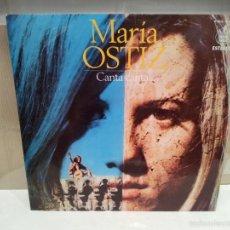 Discos de vinilo: MARIA OSTIZ LP CANTA CANTA VER FOTOS. Lote 56233049