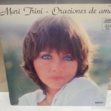 Discos de vinilo: MARI TRINI ORACIONES DE AMOR 1984 VER FOTOS. Lote 56233201