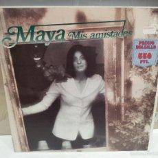 Discos de vinilo: MAYA MIS AMISTADES LP 1973 VER FOTOS. Lote 56233267