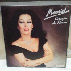 Discos de vinilo: MASSIEL CORAZON DE HIERRO LP 1983 VER FOTOS. Lote 56233294