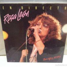 Discos de vinilo: ROSA LEON EN DIRECTO LP DOBLE 1986 VER FOTOS. Lote 56233325