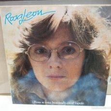 Discos de vinilo: ROSA LEON SE ESTA BUSCANDO EN EL ESPEJO LP 1984 VER FOTOS. Lote 56233354