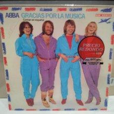 Discos de vinilo: ABBA GRACIAS POR LA MUSICA LP VER FOTOS. Lote 56233407