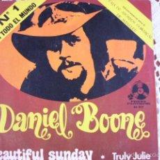 Discos de vinilo: DANIEL BOONE BEAUTIFUL SUNDAY EP 1972. Lote 56238283