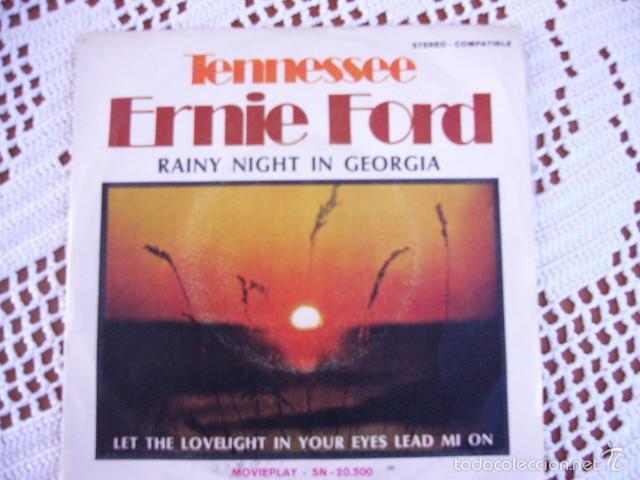 ERNIE FORD RAINY NIGHT IN GEORGIA EP 1971 (Música - Discos de Vinilo - EPs - Country y Folk)