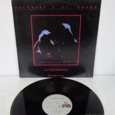 Discos de vinilo: POLANSKY Y EL ARBOL - CHANTAJE EMOCIONAL - MAXI - ARIOLA 1983 SPAIN ORIGINAL - VINILO MINT. Lote 56239116