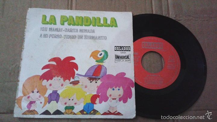 LA PANDILLA - OH MAMÁ + 3 - EP ORLADOR 1971 (Música - Discos de Vinilo - EPs - Música Infantil)