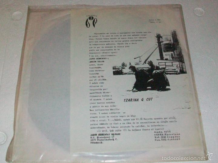 TZARINA Q CUT - G3 3G RECORDS - MINI LP (Música - Discos de Vinilo - EPs - Electrónica, Avantgarde y Experimental)