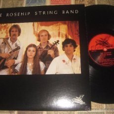 Discos de vinilo: THE ROSEHIP STRIG BAND FLYIN FISH 1976 OG USA RECOMENDABLE FOLK BLUEGRASS HIPPY WEST COAST. Lote 56248745