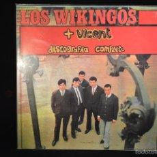 Discos de vinilo: LOS WIKINGOS + VICENT - DISCOGRAFIA COMPLETA - LP. Lote 56250181