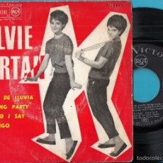 Discos de vinilo: SYLVIE VARTAN: RITMO DE LLUVIA / DANCING PARTY / WHAT´D I SAY / CONMIGO. Lote 56251622