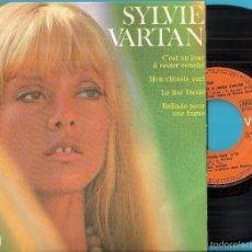 Discos de vinilo: SYLVIE VARTAN: C´EST UN JOUR À RESTER COUCHÉ / MON CHINOIS VERT / LE ROI DAVID / BALLADE POUR UNE ... Lote 56252697