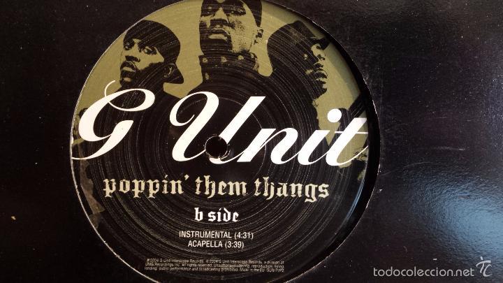 Discos de vinilo: G-Unit ?– Poppin Them Thangs / Gd Up / MAXI SINGLE - 2003 / MBC ***/*** - Foto 2 - 60721403