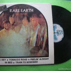 Discos de vinilo: RARE EARTH – GET READY LP 1973/1983 REEDICION ED ESPANOLA PEPETO. Lote 56261184